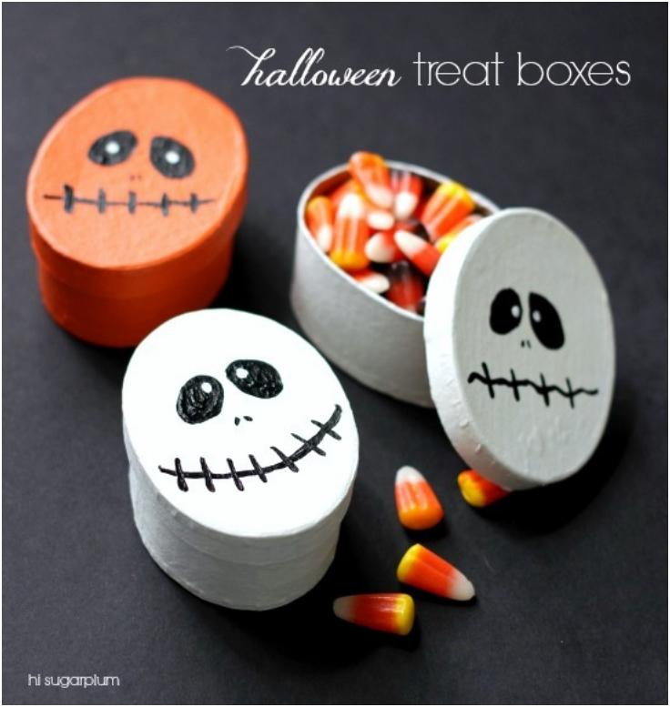 Halloween Traktaties.Traktatie Halloween Uitdeeldoosjes Traktatieinspiratie Nl