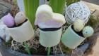 Vogelnestje van marshmallows